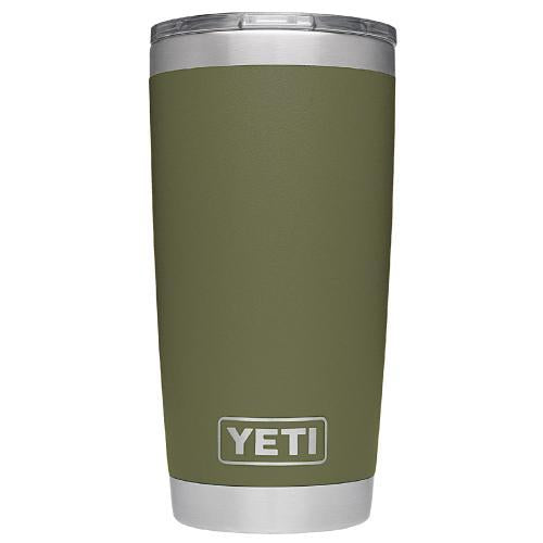 20oz Powder Coated YETI Tumbler - Olive (Direct-Factory)