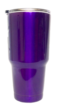 30 oz Promotional Tumbler - Purple Sparkle