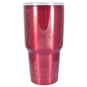 30 oz Powder Coated YETI Tumbler - Candy Apple