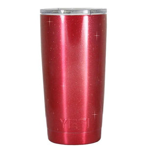 20 oz Powder Coated YETI Tumbler - Candy Apple