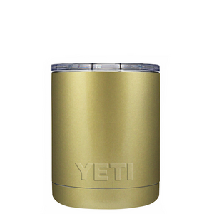 10oz Powder Coated YETI- Gold