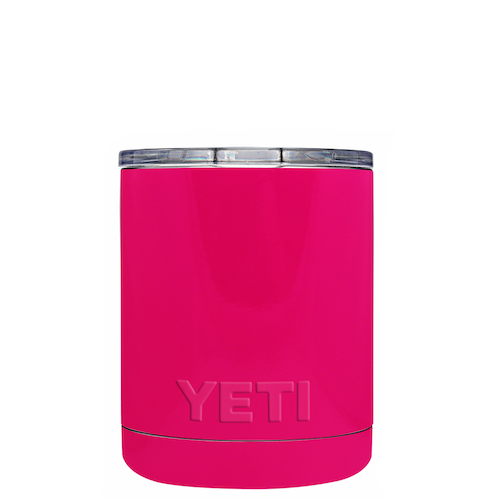 10oz Powder Coated YETI- Hot Pink
