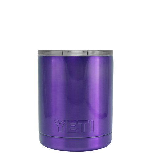 10oz Powder Coated YETI- Purple Sparkle