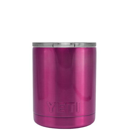 10oz Powder Coated YETI- Raspberry