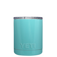10 oz Powder Coated YETI- Seafoam Blue