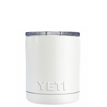 10oz Powder Coated YETI- Pearl White