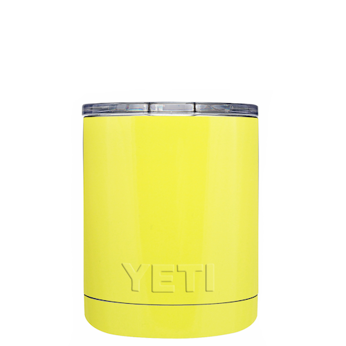 10oz Powder Coated YETI- Sunny Yellow