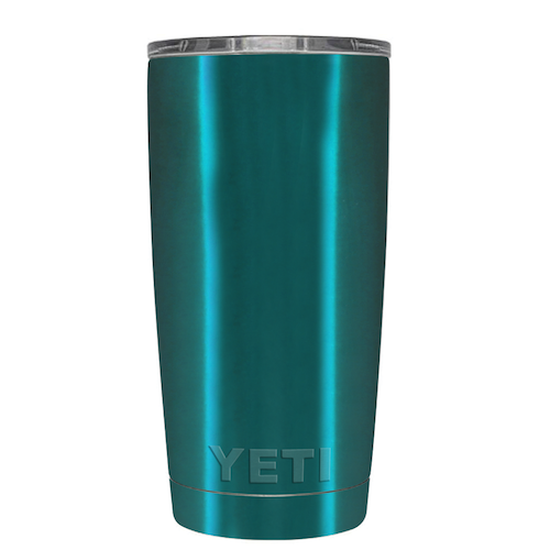20oz Powder Coated YETI Tumbler - Mermaid Tail