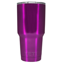 30 oz Powder Coated YETI Tumbler - Raspberry