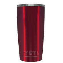 20oz Powder Coated YETI Tumbler - Red Chrome