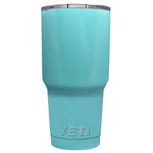 30 oz Powder Coated YETI Tumbler - Seafoam