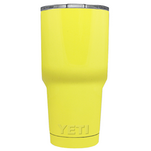 30 oz Powder Coated YETI Tumbler - Sunny Yellow
