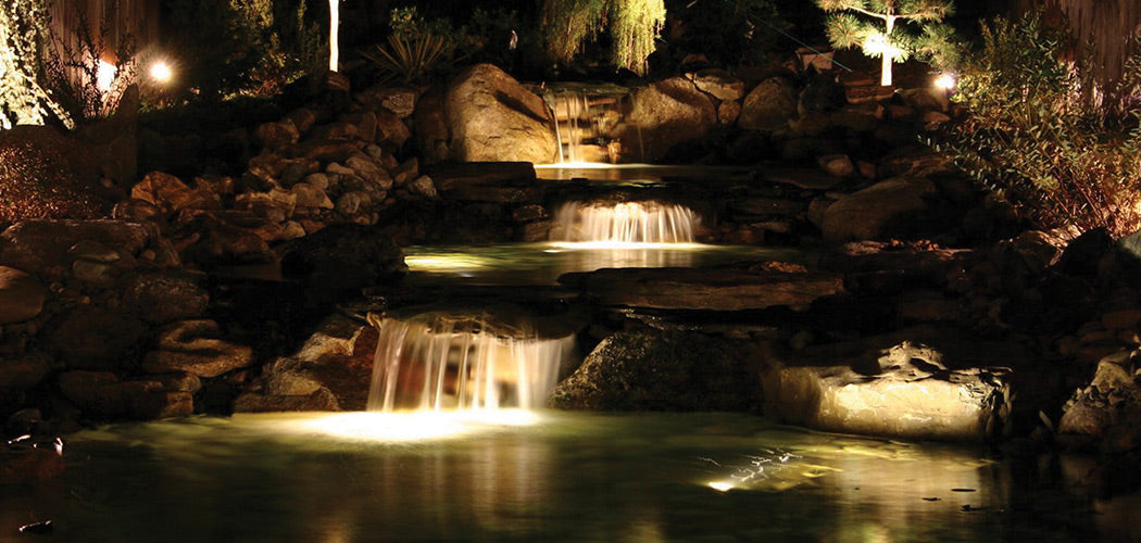 Lighting for Water Features, Landscape, Hotel Entrances and Lobbies