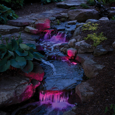 Atlantic™ Compact Color Changing LED Spotlight - Pink-Purple Water Falls