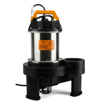 Front Angle View - AquascapePRO® 10,000 Pump by Aquascape