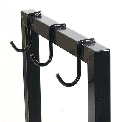 "Sunnydaze Decor - Sunnydaze 30"" Black Steel Log Rack - Inspired Fire and Water Features"