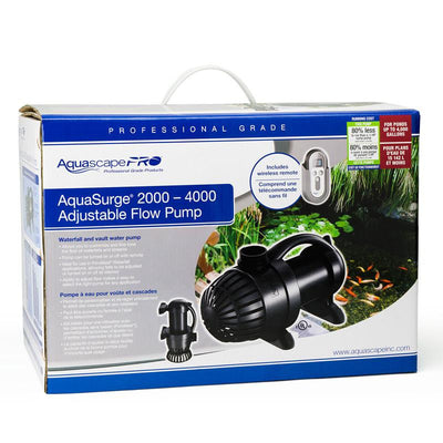 Package View-AquaSurge® PRO 2000-4000 by Aquascape