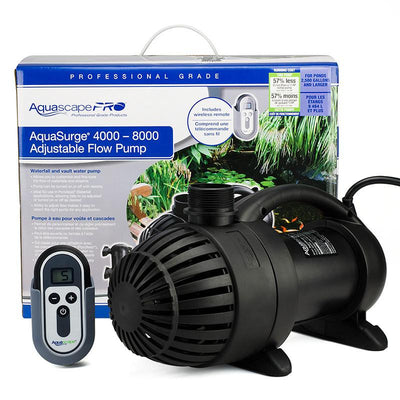 Package View-Aquasurge®PRO 4000-8000 Pump by Aquascape