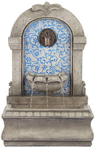 John Timberland Manhasset Outdoor Wall Water Fountain