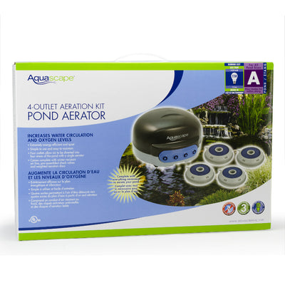 4-Outlet Pond Aerator - Package View