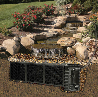 Atlantic® Pond-Free Waterfall Kit System - Inside View