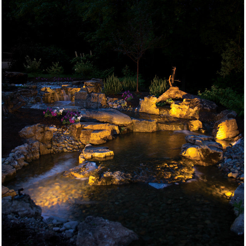 SOL Warm White LED Spotlight Lighting by Atlantic Water Gardens