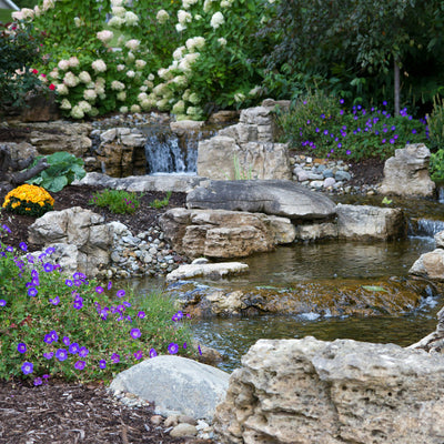 Atlantic® Large Pond-Free Waterfall Kit with 26' Spillway