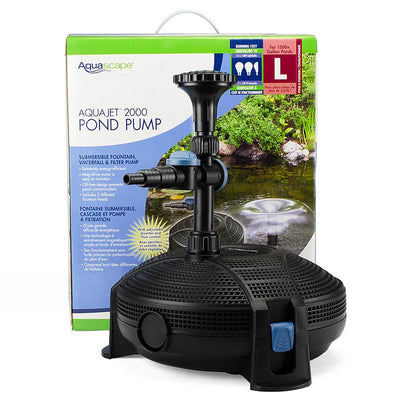 Aquascape® - Aquascape® AquaJet™ 2000 Pump - Inspired Fire and Water Features