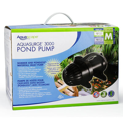 Aquascape® - AquaSurge® 3000 Pond Pump - Inspired Fire and Water Features