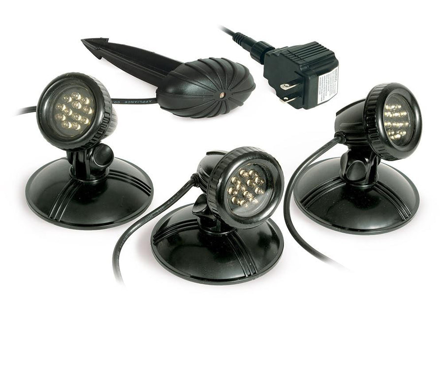 AWG Lighting - 3-Pack Warm White Pond Light - Atlantic Water Gardens at cleanwatermill.com - Clean Water Mill