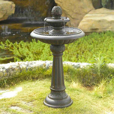Ananas Pineapple Tier Outdoor Fountain by Jeco Inc. - Outdoors