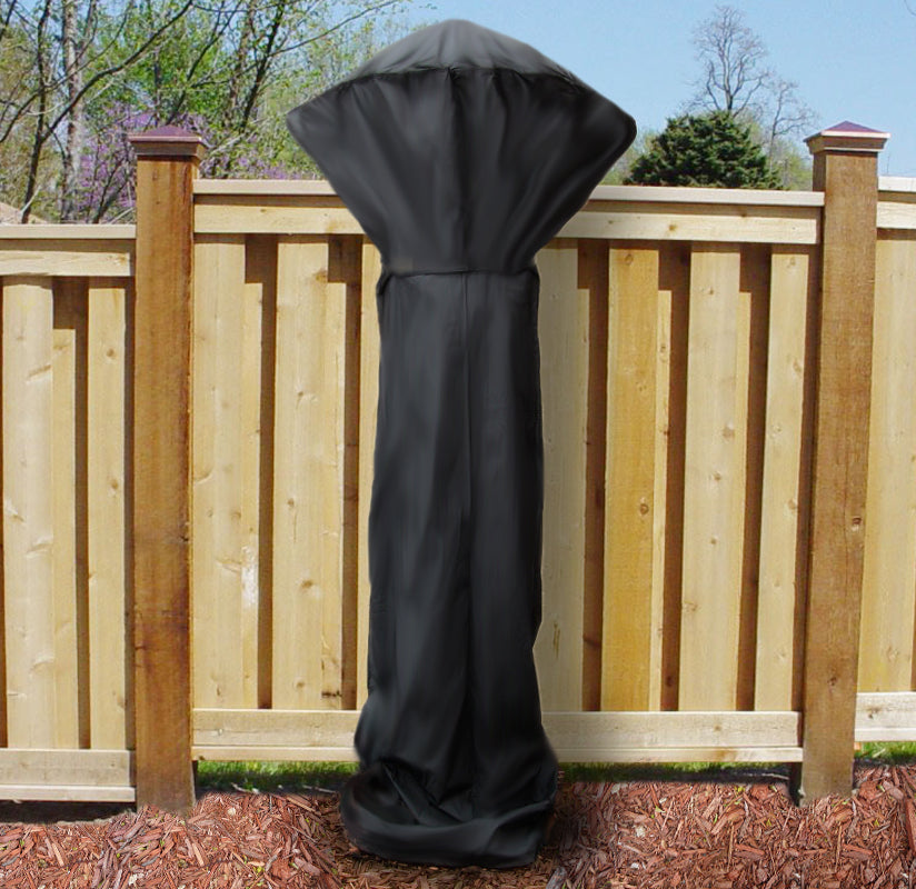 "Sunnydaze 94"" x 38"" Black Patio Outdoor Heater Cover"