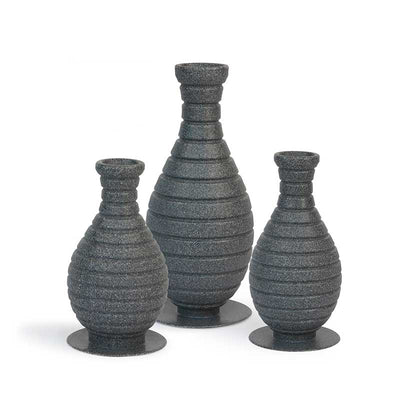 Atlantic 3 Piece Set Color Changing Vase Fountains - Main View