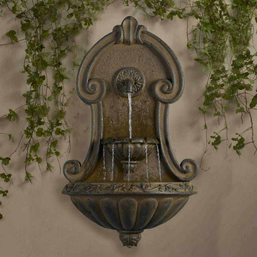 Jeco Inc Muro Elegante Copper Finish Wall Fountain