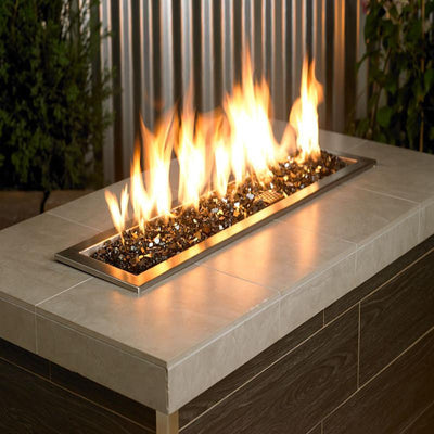 American Fire Glass™ - American Fireglass 1/4 Inch Black Reflective Fire Glass 10lbs - Inspired Fire and Water Features