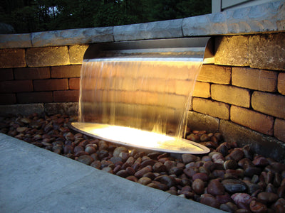 Atlantic™ - 304 Stainless Steel Spillway - Night Lighting