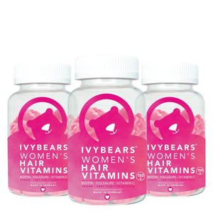 IVYBEARS Hair Vitamins For Women Trio