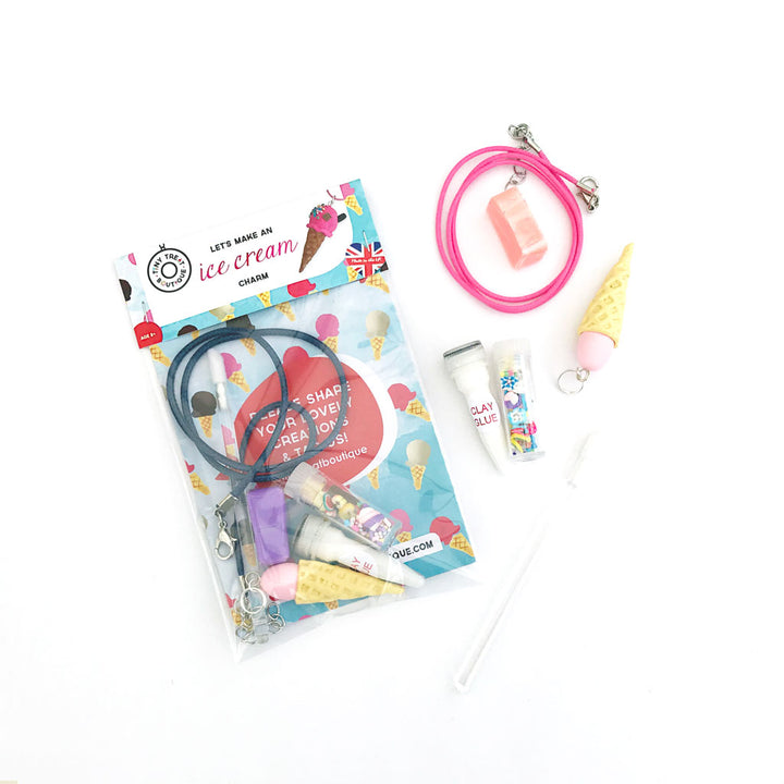 Ice Cream-Themed Jewellery Mini Kit