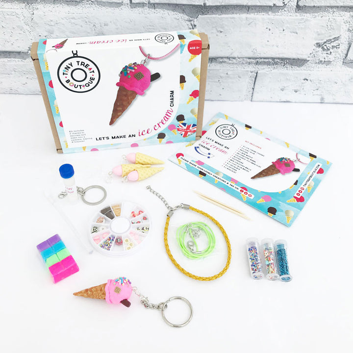 Ice Cream-Themed Jewellery Craft Kit