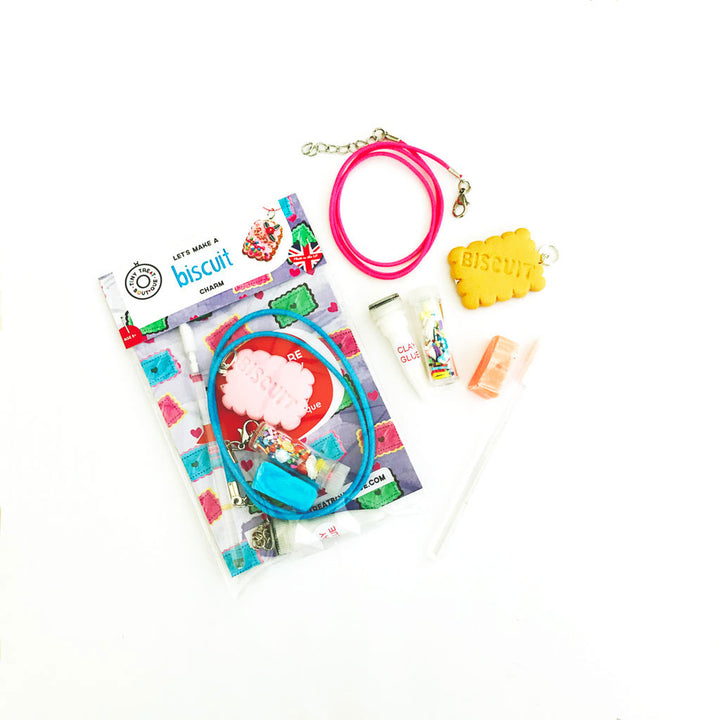 Biscuit-Themed Jewellery Mini Kit