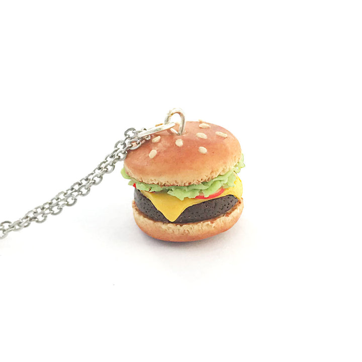 Burger Necklace