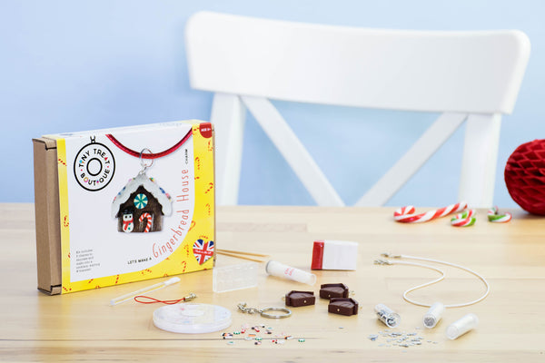 Gingerbread House-Themed Jewellery Craft Kit