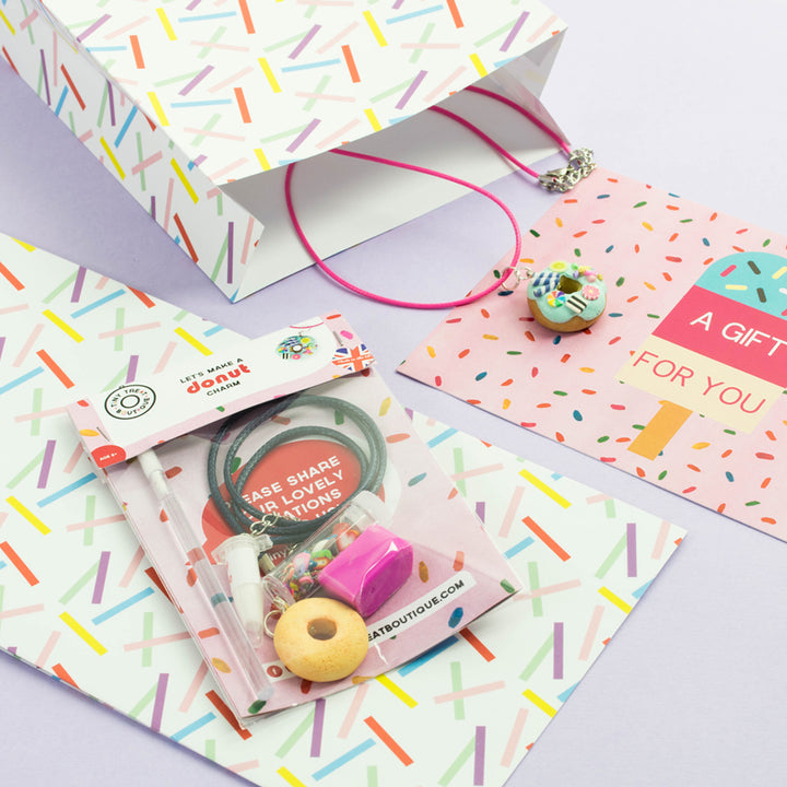 Donut-Themed Jewellery Craft Mini Kit