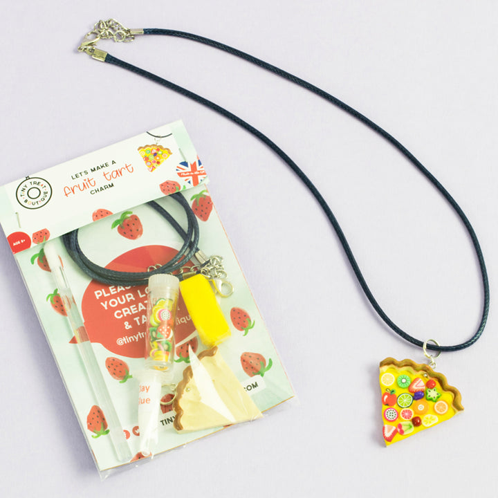 Fruit Tart-Themed Jewellery Mini Kit