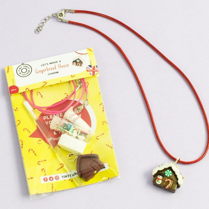 Gingerbread House-Themed Jewellery Mini Kit