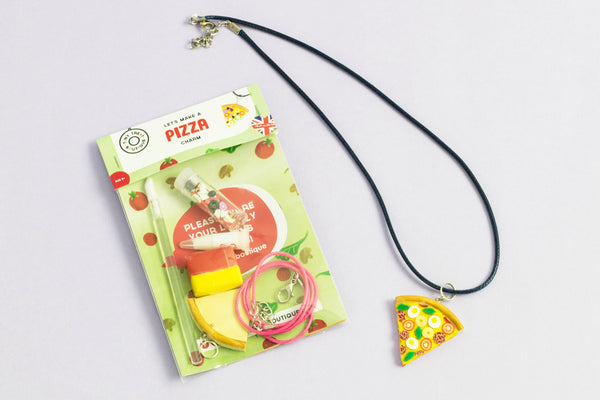 Pizza-Themed Jewellery Mini Kit