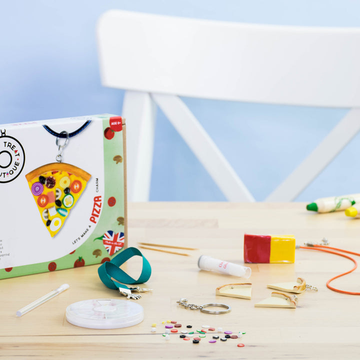 Pizza-Themed Jewellery Craft Kit