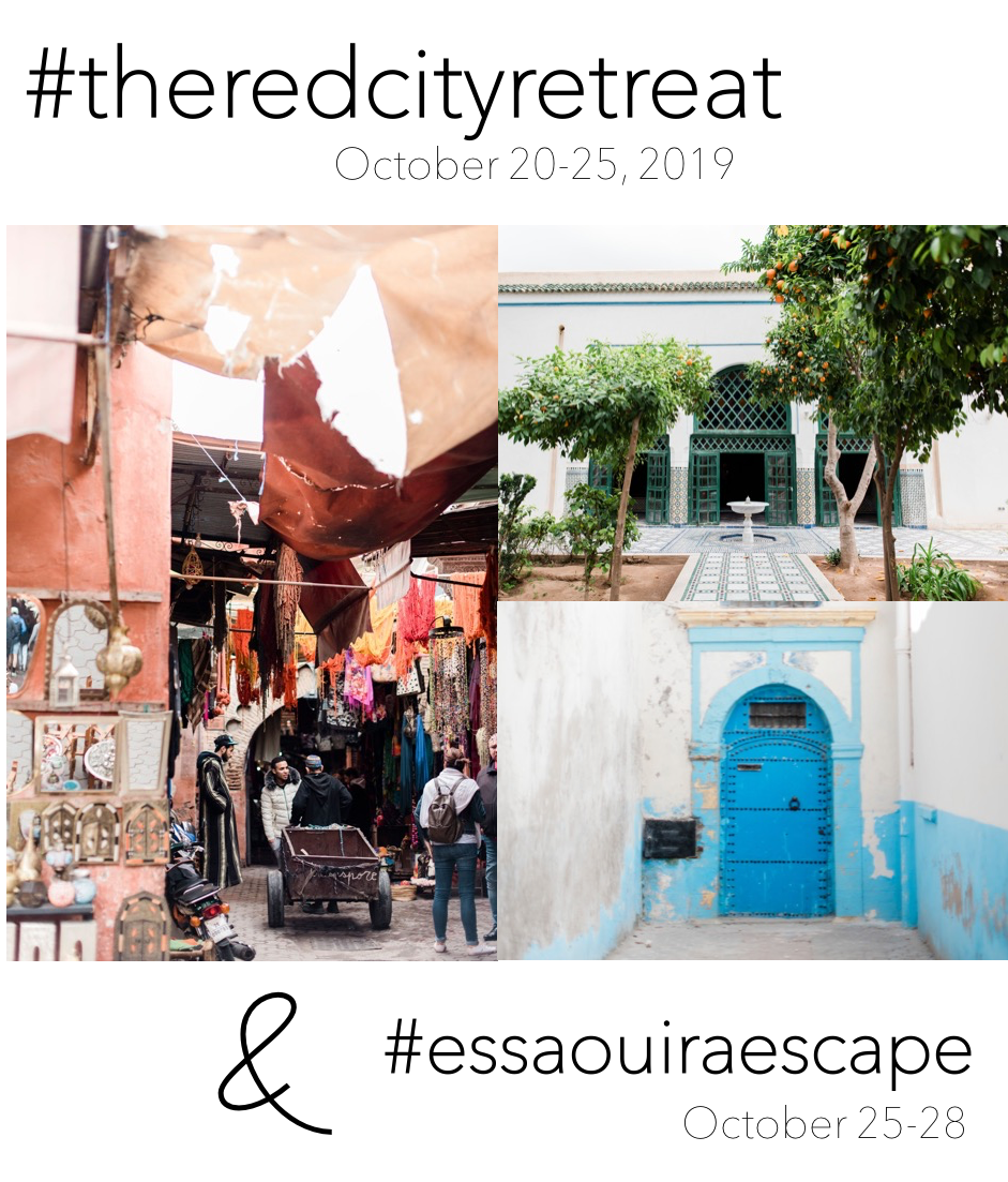 The Red City Retreat + Essaouira Escape (Oct 20-28th, 2019)