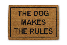 The Dog Makes The Rules