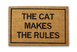 The Cat Makes The Rules